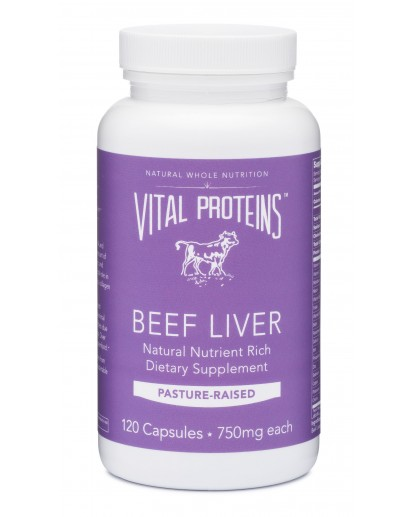 Our favorite way to eat liver: Vital Proteins Liver Pills by Paleo Parents