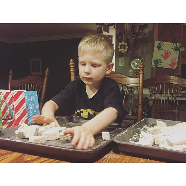marshmallows wes; All about our Paleo holiday celebration, including WHAT happened to our tree! Paleo Parents Weekend Wrap Up