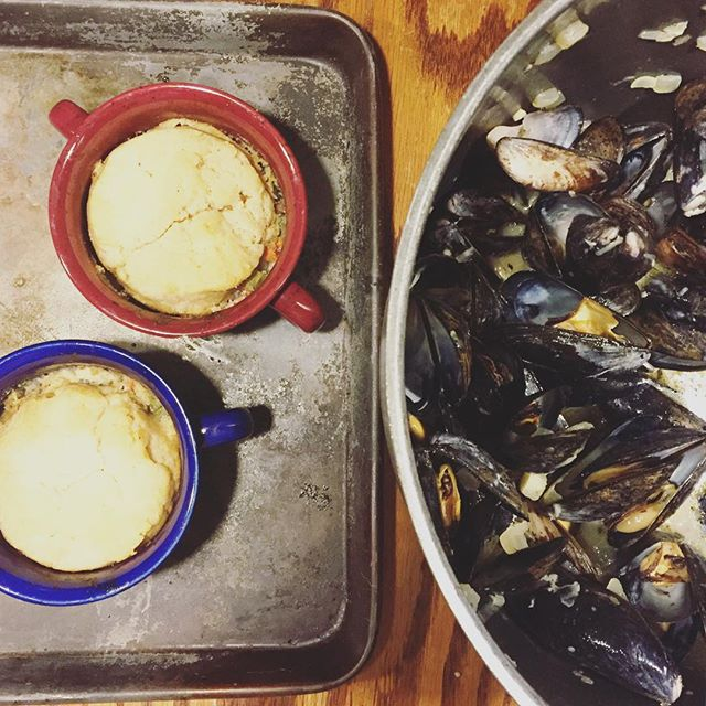 mussels and pot pie: Make an INCREDIBLE Paleo Holiday Dinner! Paleo Parents