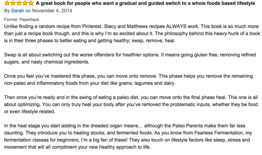 RLP Amazon review phase 3: Finn's Kitchen Disaster + Healthy Choices to Fight Cold and Flu Season | Paleo Parents