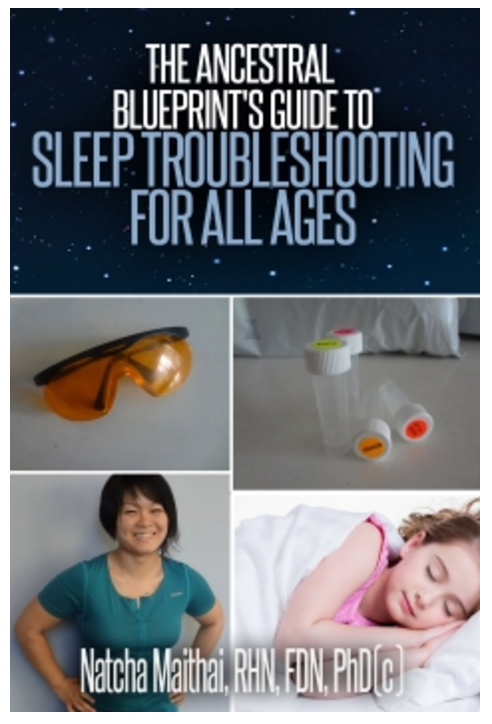 Natcha sleep book; Paleo Parents Guest Post: 6 Reasons You Are Not Losing Weight When You Seem to Be Doing Everything Right, Natcha Maithai