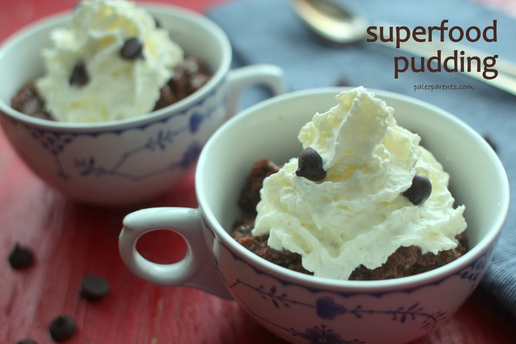 Superfood Pudding by PaleoParents
