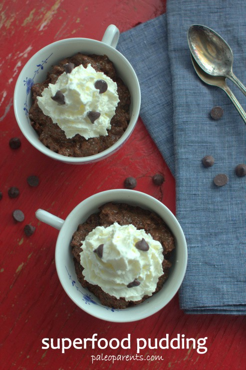 Superfood Pudding on Paleo Parents
