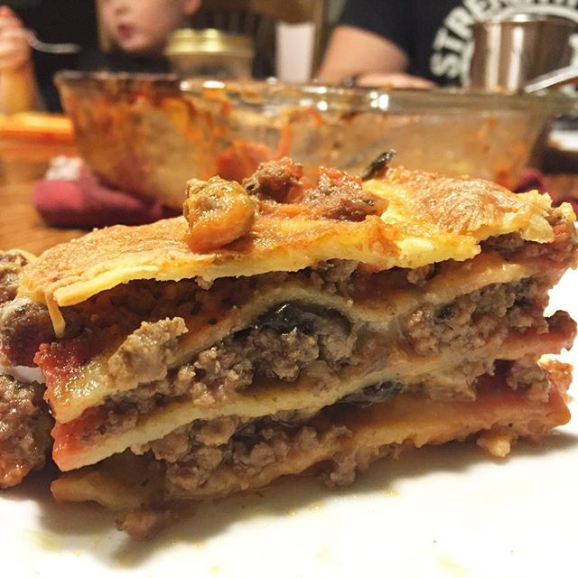 less lasagna without cheese; What We Ate Our Real Life Meal Plan Paleo Parents 1.13