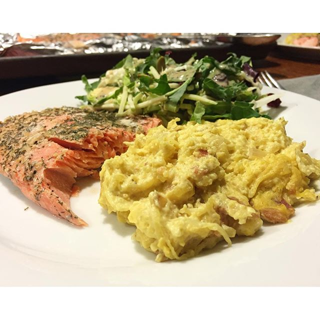 salmon mac and cheese; What We Ate Our Real Life Meal Plan Paleo Parents 1.13