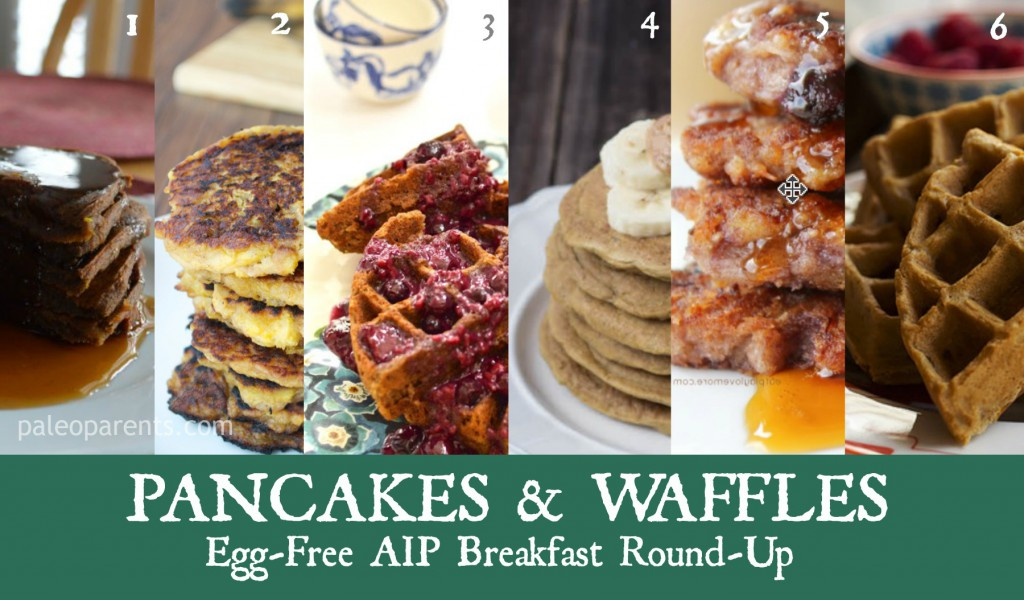 Egg-Free AIP Breakfast Round-Up as seen on PaleoParents.com