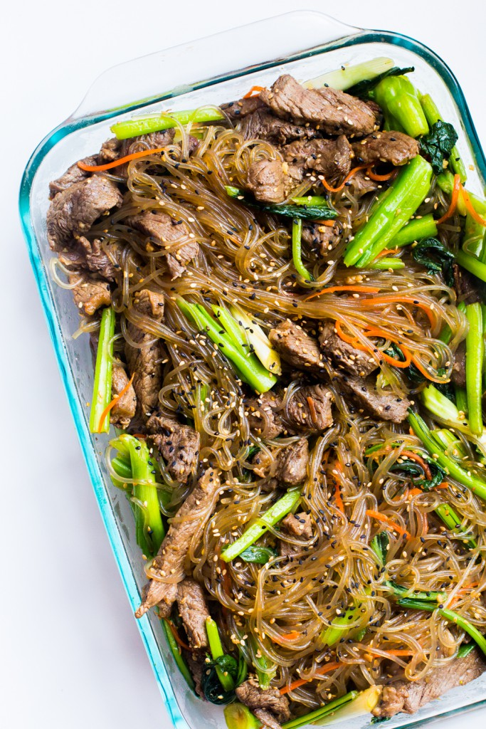 japchae domestic man, What We Ate: Our {Very Special} Weekly Family Meal Plan! | Paleo Parents