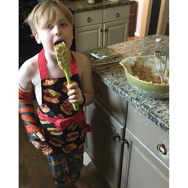 Baking cookies, What We Ate: Our Weekly Meal Plan Designed By the Boys | Paleo Parents Meal Planning