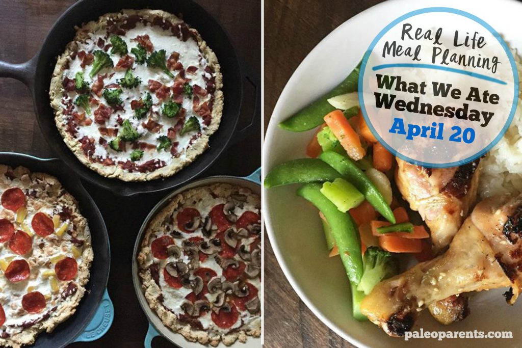Our Weekly Meal Plan: Eats from the Web! What We Ate Wednesday Paleo Meal Plan | Paleo Parents