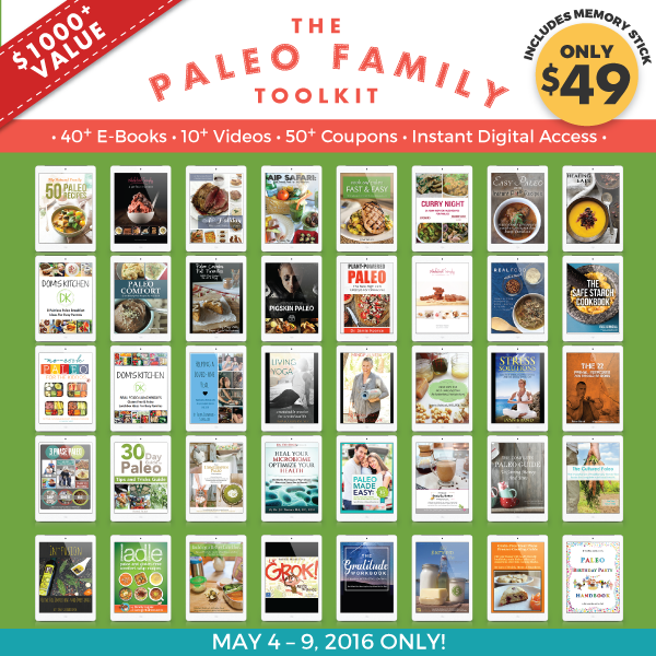 Paleo Family Toolkit-Covers for Paleo Parents
