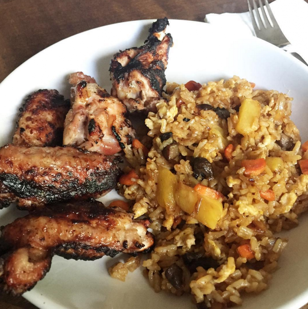 Huli chicken wings and pineapple fried rice Paleo, Our Summer-Inspired Weekly Family Meal Plan | Paleo Parents