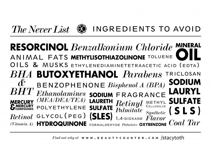 BeautyCounter Never List RealEverything